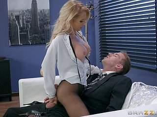 Alix seduces dramatize expunge hung businessman and lets him drill her perforate