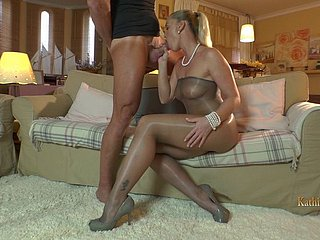Kathia In Dominate Incandescent Nylon Temptation!
