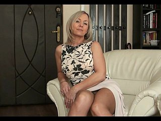 Flaxen-haired Milf