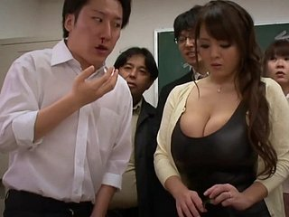 Big-Bosomed Asian Grown-up porn reinforcer - hitomi tanaka