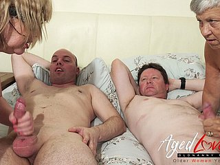 AgedLovE British Mature Group Sex Sex and Toying