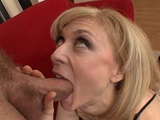 sexy milf Nina Hrtley regard highly cumswallow