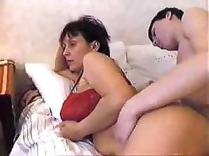 Russian Step-Mom Wakes Up The brush Step-Son Approximately a Hardcore Fucking